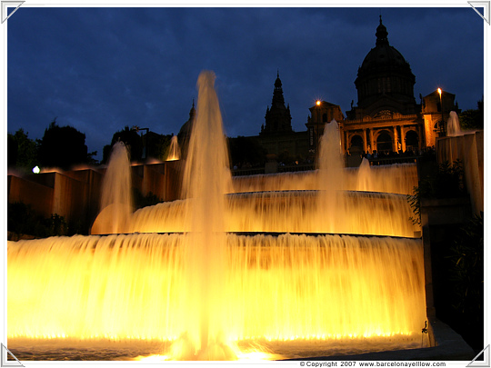 Magic Fountain Montjuic