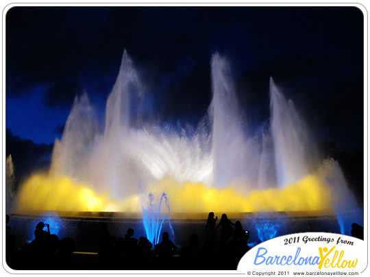Top ten - magic fountain barcelona