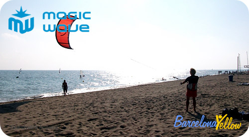 kite surfing school Barcelona