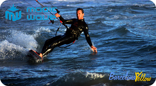 Kitesurfing school Barcelona Alexis