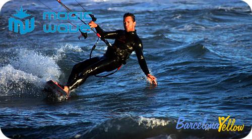 Kitesurfing school Barcelona Alexis