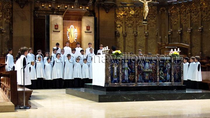 Escolania de Montserrat boys choir