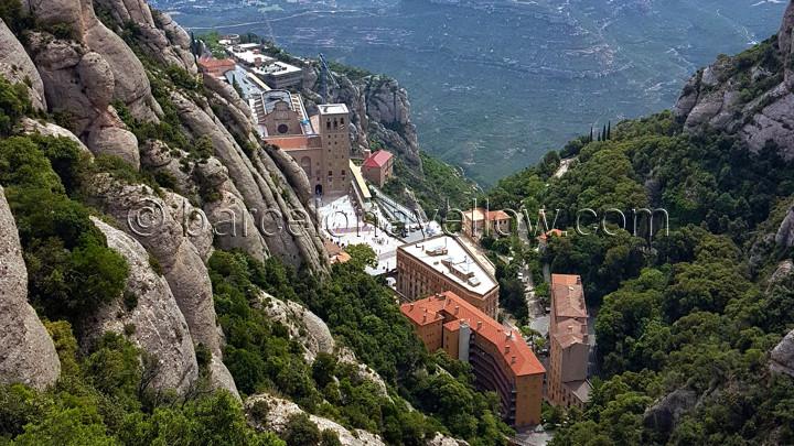 Montserrat mountain Barcelona