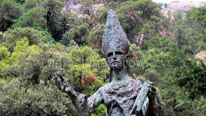 Abbot Oliba - founder of Montserrat