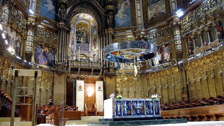 Montserrat basilica