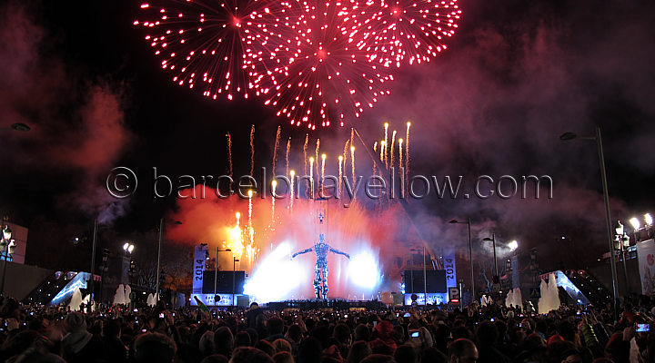 Barcelona New Year Celebrations