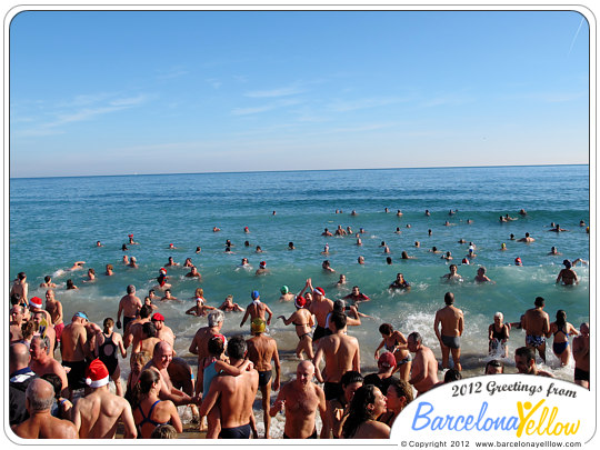 New Year Swim Barcelona