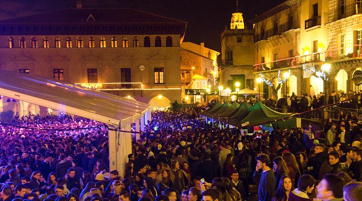 Poble Espanyol New Year Barcelona