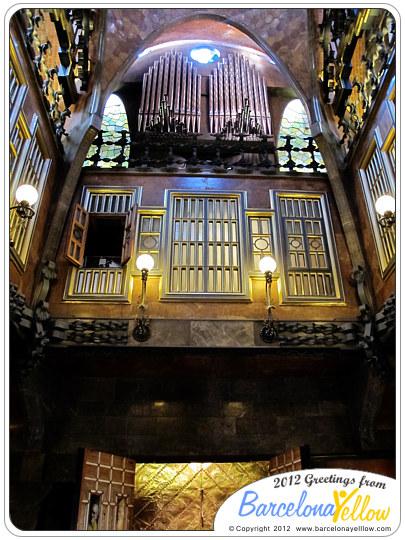 Palau Guell pipe organ