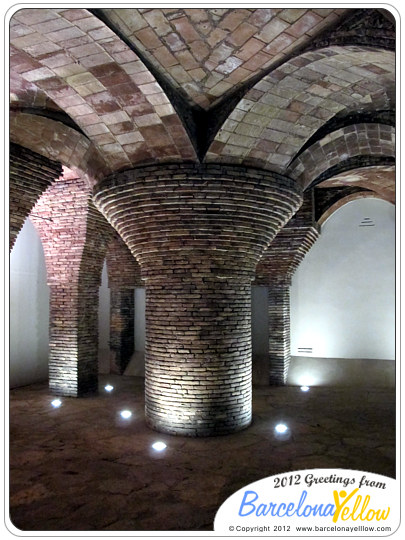 Palau Guell stables cellar