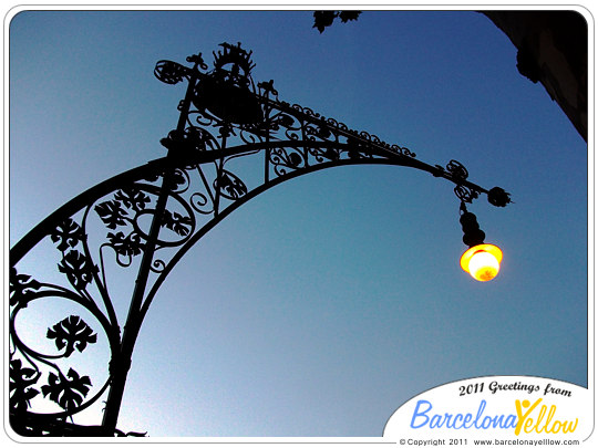 Passeig de Gracia street lamps