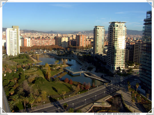 Diagonal Mar area of Barcelona
