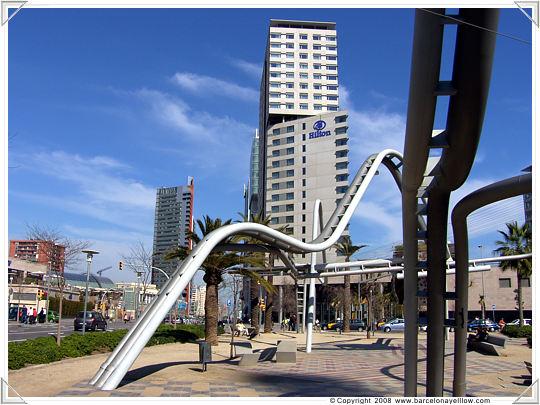 Hilton hotel Diagonal Mar