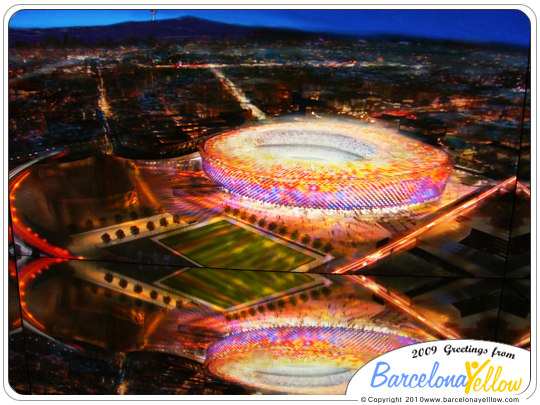 Barca new Nou Camp
