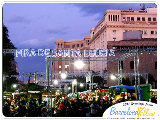 Fira de Santa Llucia Christmas market