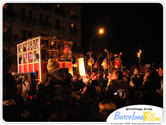 Christmas in Barcelona - Three Kings parade
