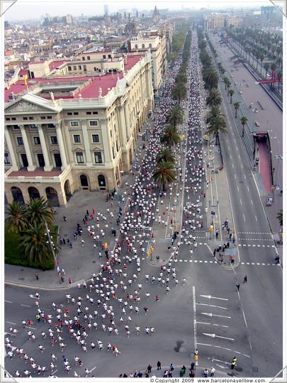 pictures cursa bomberos barcelona
