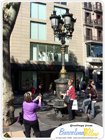 Font de Canaletes Barcelona