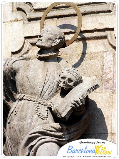 """Sculpture  """"Iglesia Parroquia de la Mare de Déu de Belen"""""""