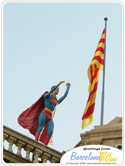 la rambla superman wax