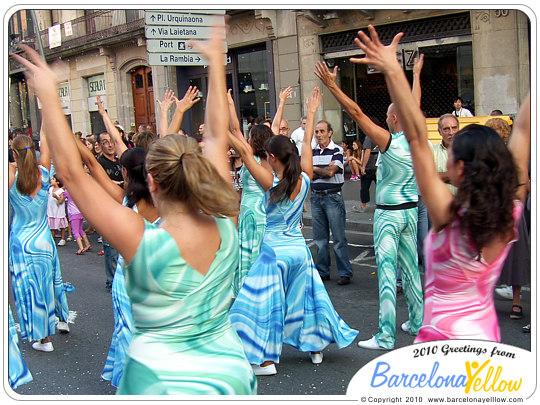 Dancers La Gran Cabalgata de la Mercè