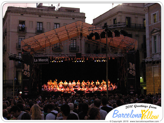 Merce Festival Barcelona Cobla