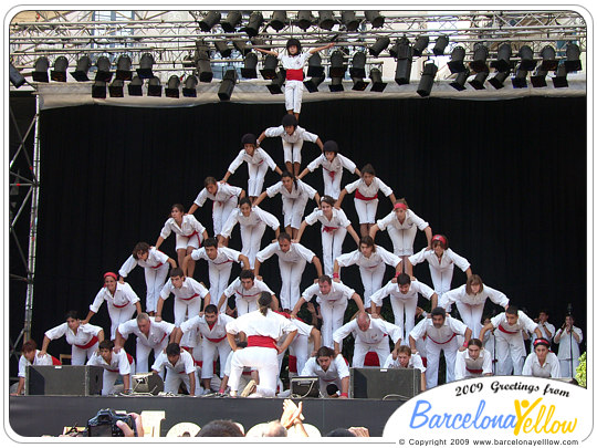 Merce Festival Barcelona Falcons