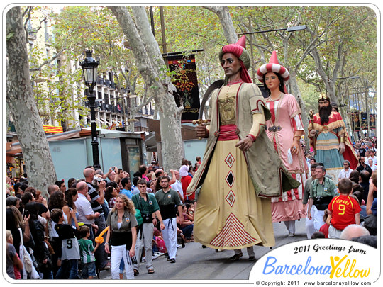 Merce Festival Barcelona cercavila