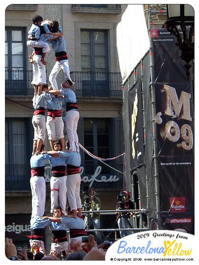Merce Festival Castellers