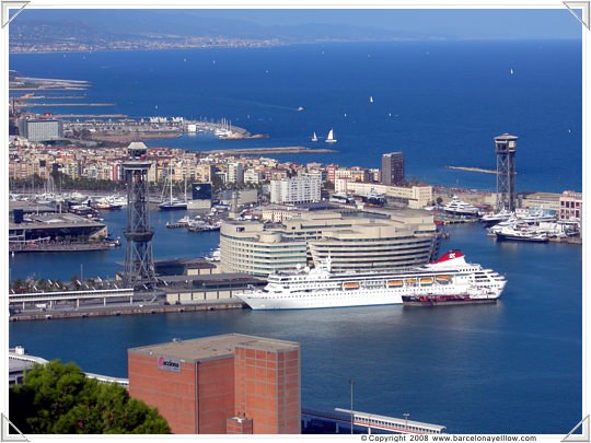 Views of Port Vell Barcelona