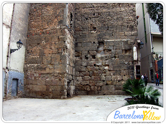 barcino_roman_wall_Sots_tinent