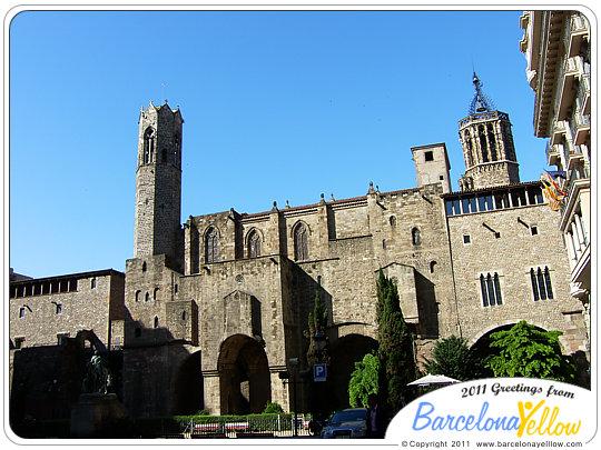 barcino_roman_wall_placa_ramon_berenguer