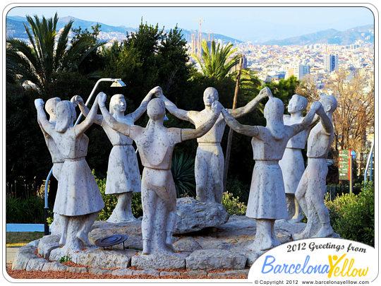 Monument a la Sardana Montjuic