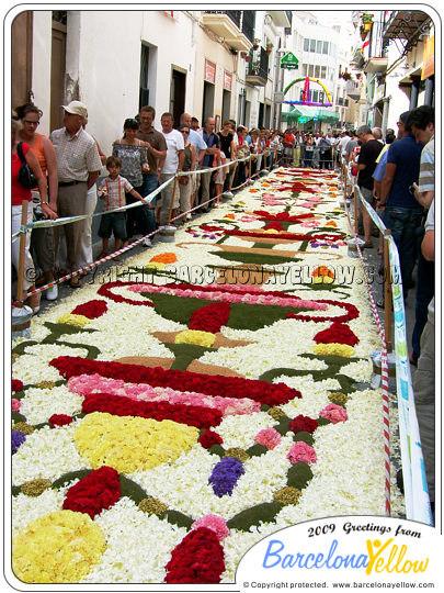 Sitges Corpus - Flower Carpet Festival