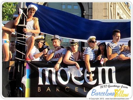 Pride parade Barcelona Gay Pride Festival