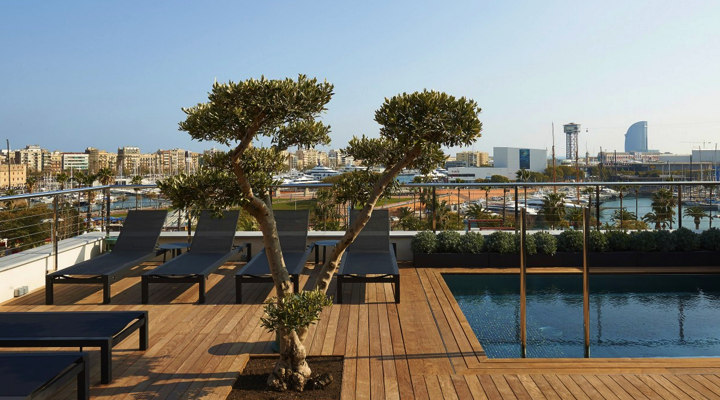 Barcelona 2017 best barcelona hotel terraces rooftop pools for Top design hotels barcelona