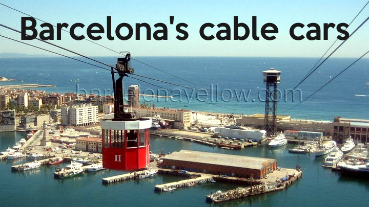 Barcelona cable cars and mountain railways