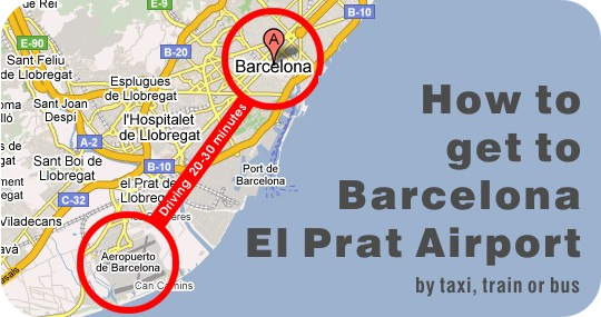 location barcelona aiport
