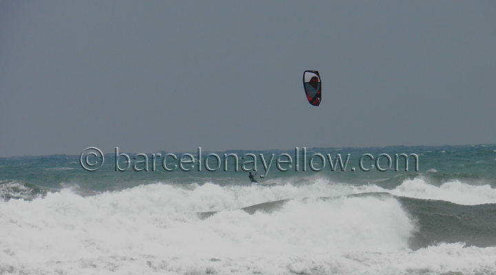 kiting_barcelona_spain