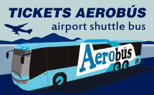 Tickets Barcelona AEROBÚS airport bus to city center