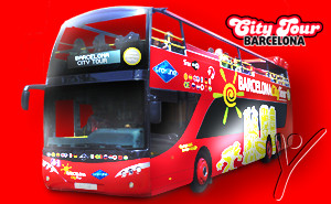 Tickets Barcelona City Tour. Hop on Hop off bus