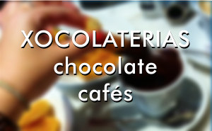 Chocolate cafes - Xocolaterias. Where to eat Churros with chocolate Barcelona