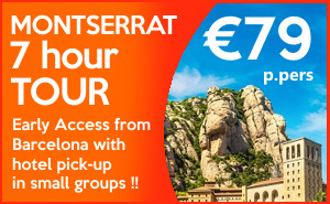 sponsored - EARLY ACCESS morning Montserrat tour