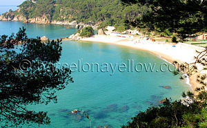 Pictures Costa Brava beaches in Spain