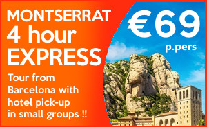 sponsored - EXPRESS 4 hour Morning Montserrat tour from Barcelona