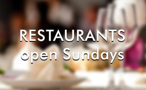 Best Sunday open restaurants Barcelona