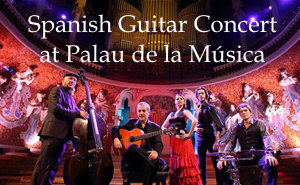 TICKETS Spanish Guitar concert at Palau de la Musica