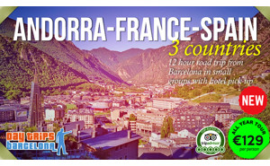 sponsored - Day Tour from Barcelona to Andorra and Pyrenees Mountains
