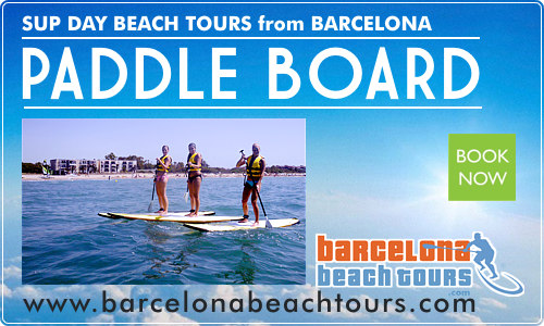 SUP Paddle Surfing tours and classes Barcelona