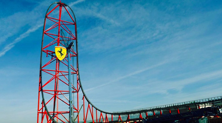 Ferrari land Barcelona
